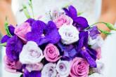 Фиолетовая свадьба — тонкости оформления праздника
