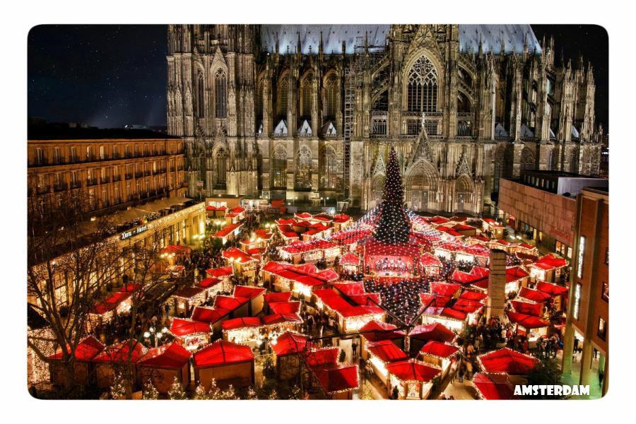 Амстердам в канун рождества