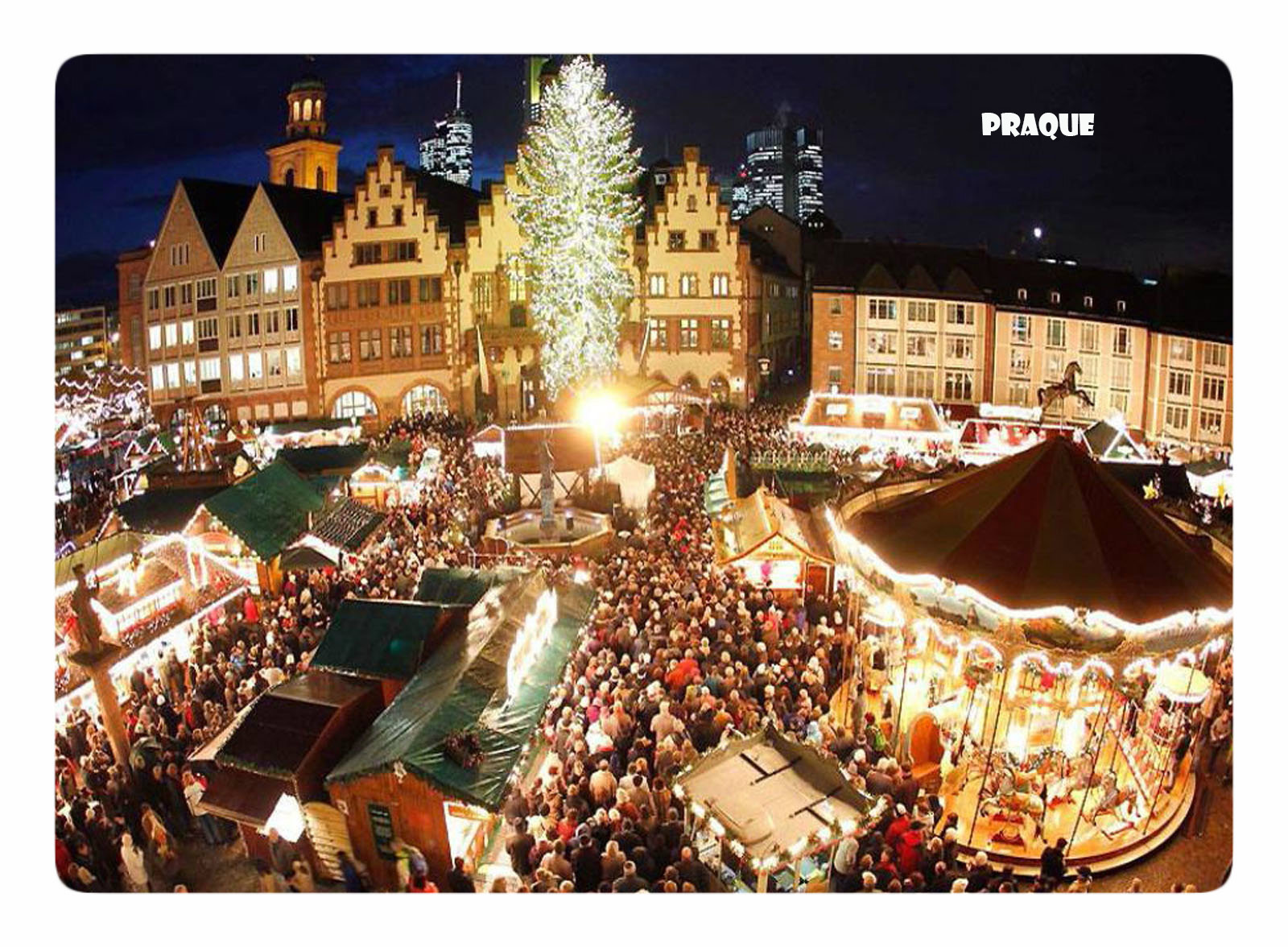 Прага на рождество