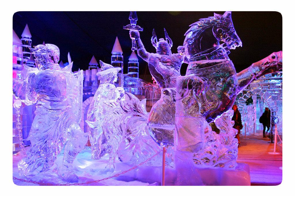 выставка ледяных фигур