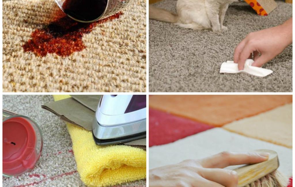 Как очистить ковер