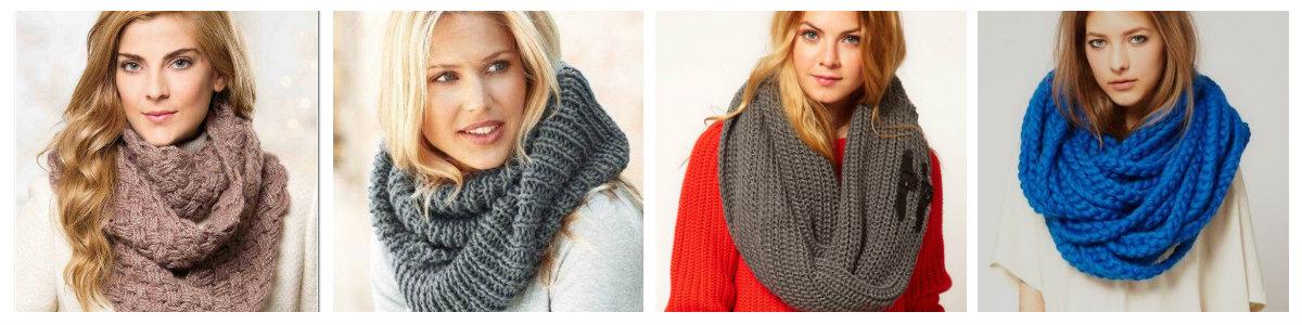 Хомуты шарфы своими руками