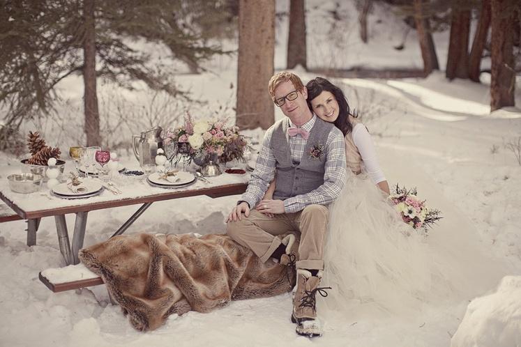 зимняя свадьба идеи для фотосессии