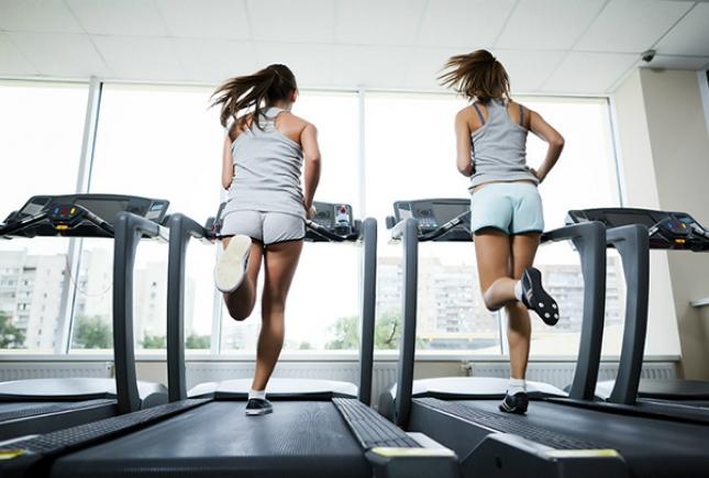 какие мышцы работают во время бега