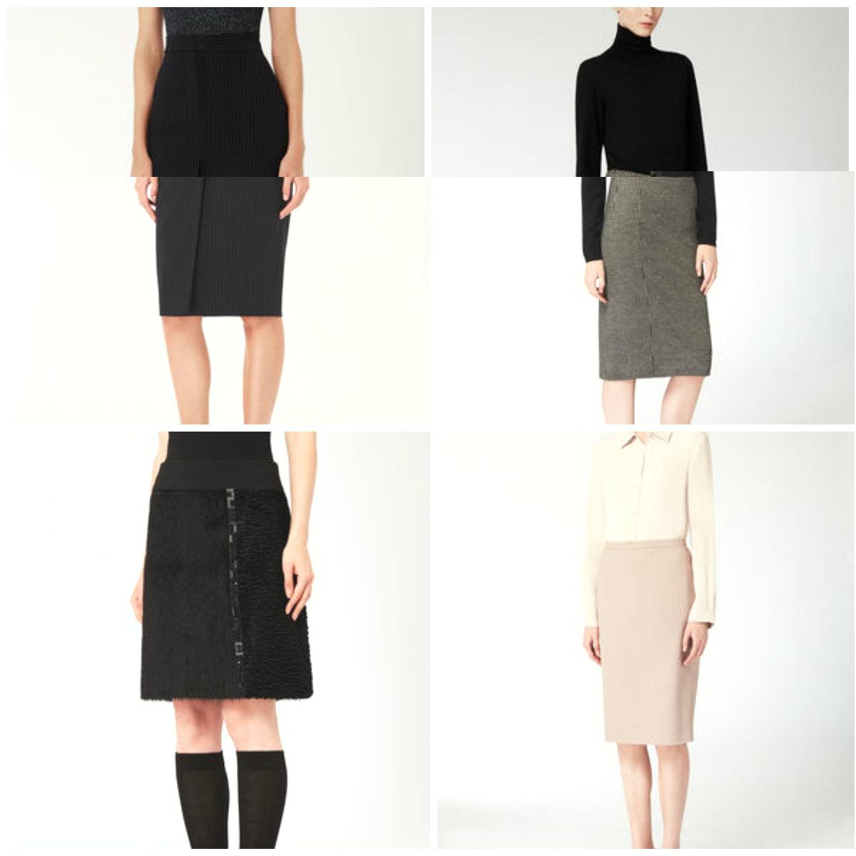 классические модели женских юбок