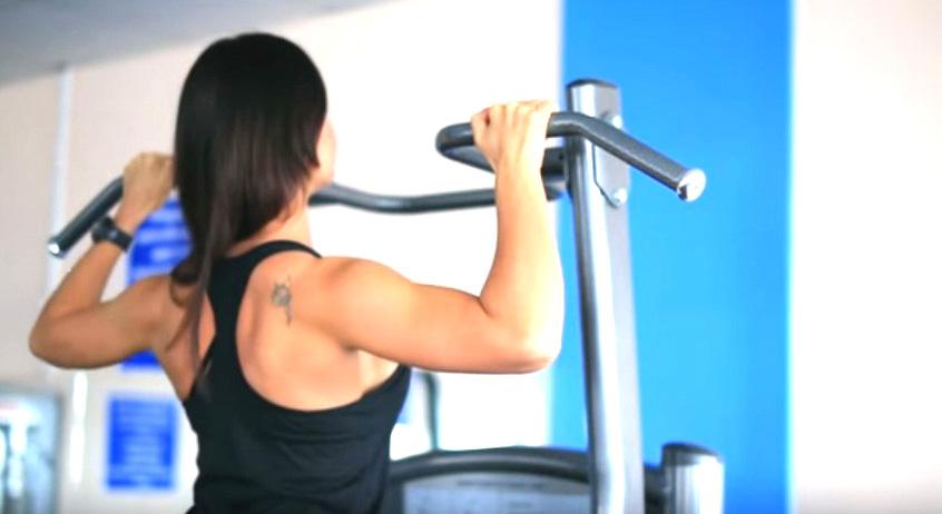 лучшие упражнения на спину в тренажерном зале
