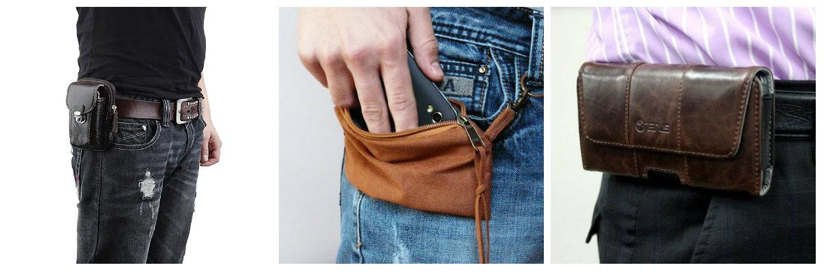 сумка чехол для телефона на пояс