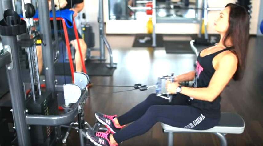 упражнения для похудения спины в тренажерном зале