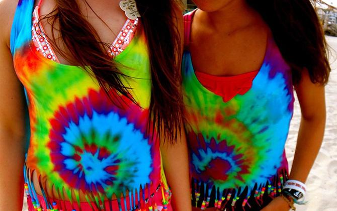 Одежда в стиле тай-дай — модное решение смелых фантазий