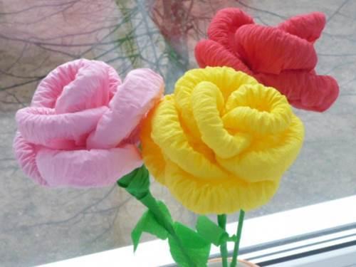 Как сделать розу из салфетки своими руками?