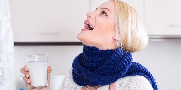 Полоскание горла содой — действенный метод против простуды