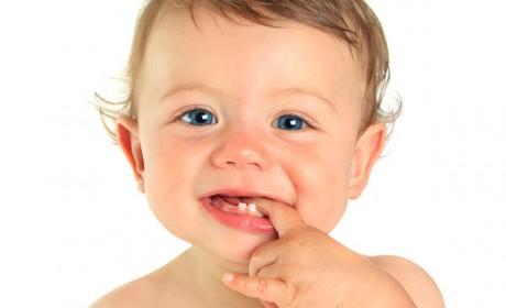 Прорезывание зубов у грудничков