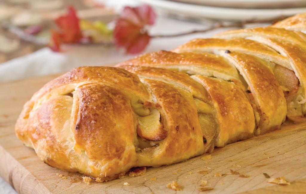 Штрудель яблочный, рецепт приготовления блюда
