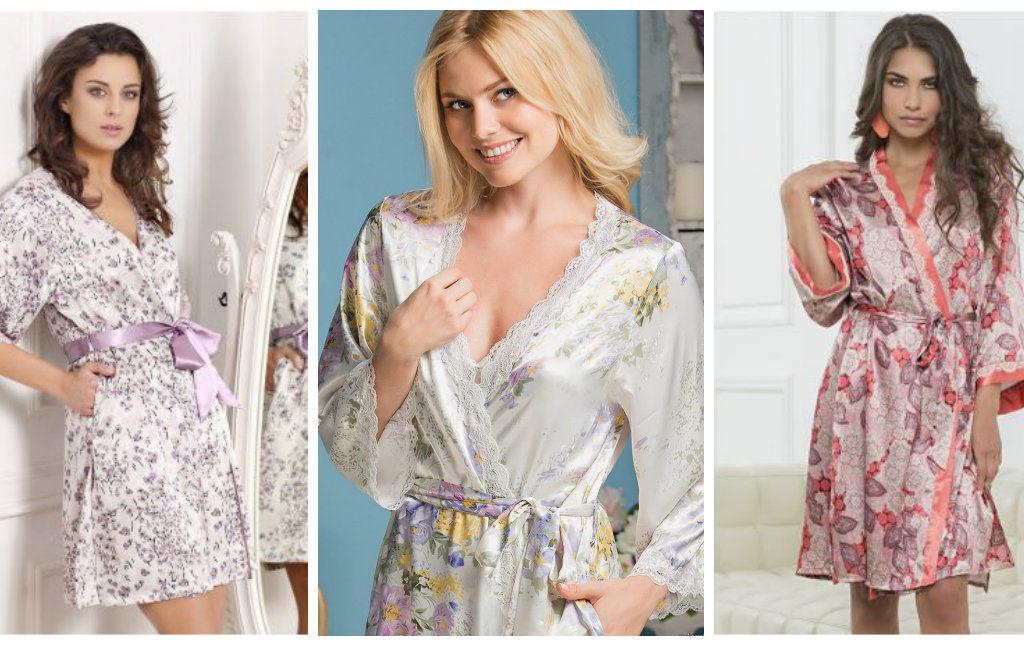 Домашние халаты: добавьте образу искрометности