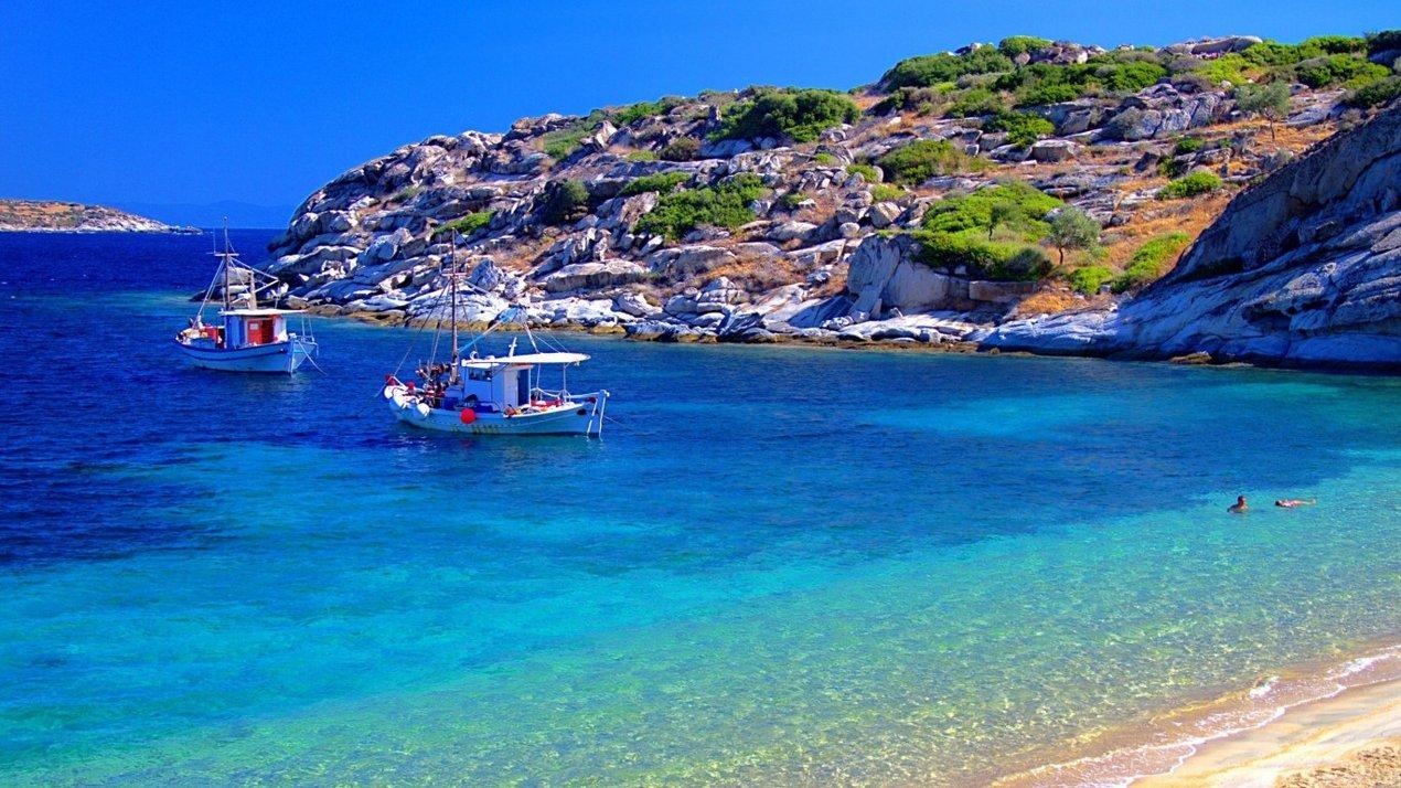 греция пляжи фото
