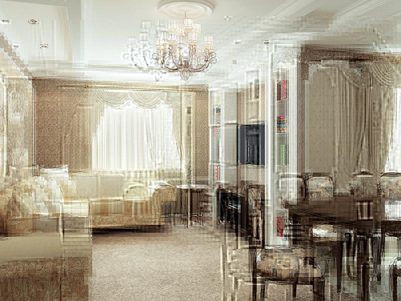 Дизайн классической гостиной – роскошь домашнего интерьера