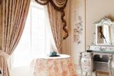 Как подобрать шторы к обоям: сочетание цветов, правила и стили